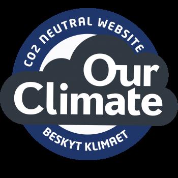 Blå CO2 neutral website